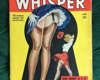 Whisper pinup magazine!