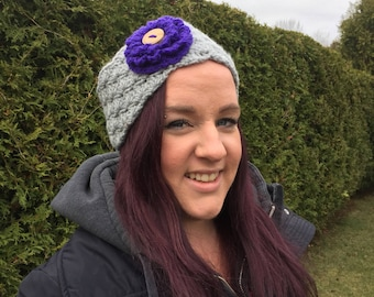 Adult headband womens earwarmer