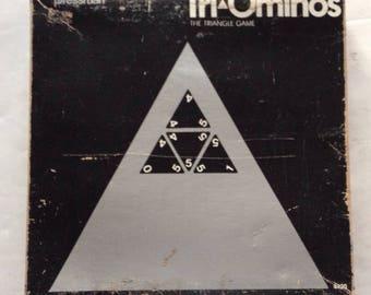 Vintage 1968 TRI-OMINOS GAME  by Pressman games