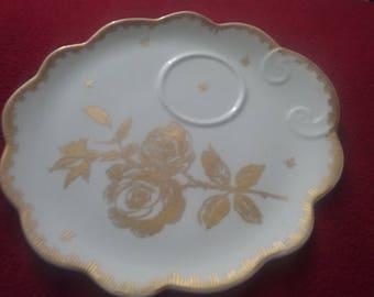 Fonde en 1789 Luncheon Handpainte Plate