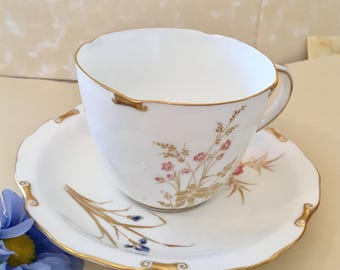 Royal Crown Derby Devonshire  tea cup and  saucer made in England XV111