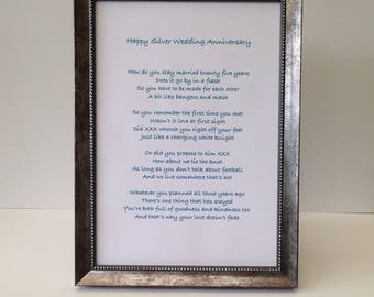 Customised framed poem Bar Mitzvah present, Personalised words for a card, First Communion scroll, Confirmation print, gift from godparents