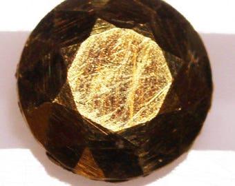 Gold 4.744cts Round Cut R1244 Gemstone Jewelry Making Semi Precious Gemstone