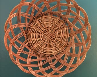 Woven Basket Wall Decor woven wall decor | etsy