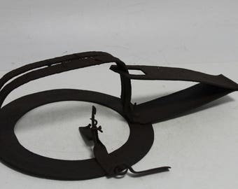 Antique Primitive Hand Forged Iron Trap for mouse