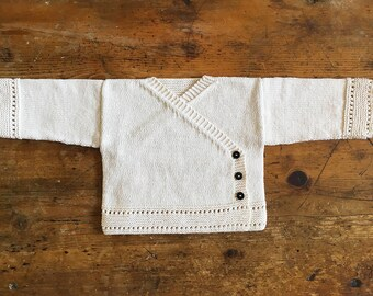 Organic cotton kimono Cardigan - 6 months