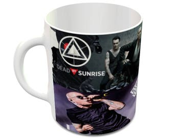 Chester Bennington  Ceramic Mug Linkin Park Stone Temple Pilots Dead By Sunrise