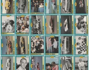 1992 Traks Benny Parsons Nascar Racing 50 Card Set