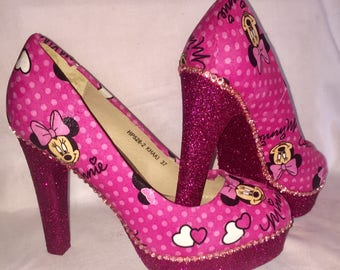Disney Minnie Mouse shoes / heels * * * sizes 3-8