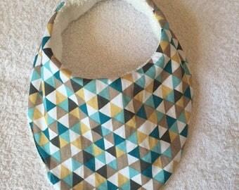 Bib bandana cotton and Terry 0-3 months
