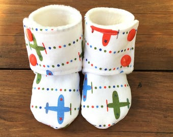 Stay-On Booties (Boy)