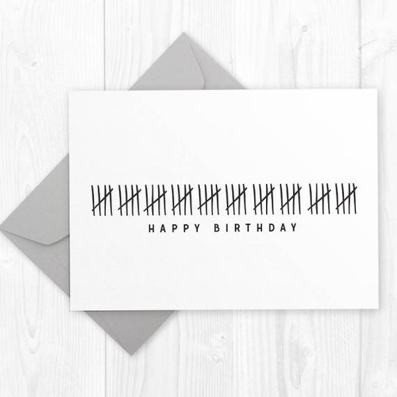 Funny Happy 50th Birthday Printable Card DIY Printable