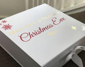 Christmas Eve Box, Christmas Box, Kids Christmas Box, Christmas Eve Keepsake Box