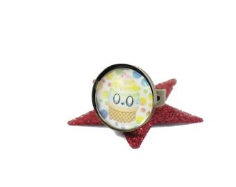 Kawaii Cupcake ring