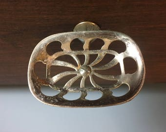 Vintage Retro Metal Wall Mount Soap Dish