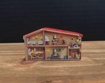 Lundby Vintage Mini Dollhouse Child's Room Toy | Tiny HTF Rare Miniature | 1:16 Scale