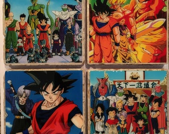 Dragon Ball Z Coasters