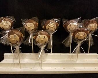 Monkey cake pops (order of 13)