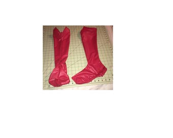 """Cosplay Boot Covers For Ladies With Center """"V"""""""