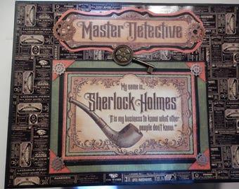 Sherlock Holmes Master Detective Mini Album PDF Tutorial