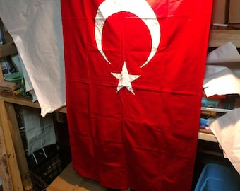 3x5 ajax cotton flag of turkey