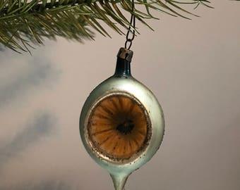 Vintage Deep Indent Christmas Ornament