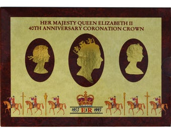1993 5.00 Five Pound Royal Mint Brilliant Uncirculated Pack