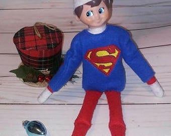 Super Guy Elf Shirt Embroidery Design