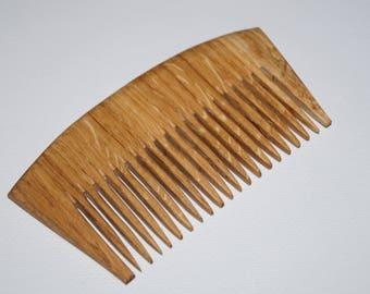 Wooden comb Wooden gift Hair comb Wood comb Natural comb Wooden oak combs Gift idea Comb Women comb Hair care Wooden hair comb