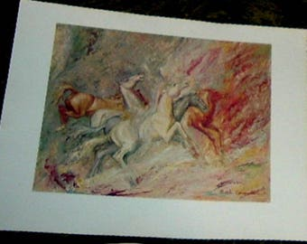 FROM THE APPALACHINS -Portfolio of Drawings and Paintings By Ruth Carroll