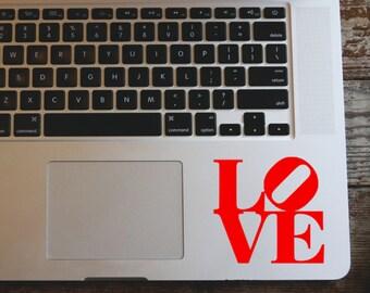 LOVE vinyl decal sticker - Love Logo