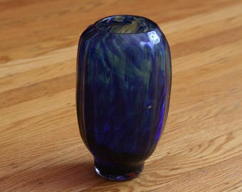 Deep Blue  Sea Vase.