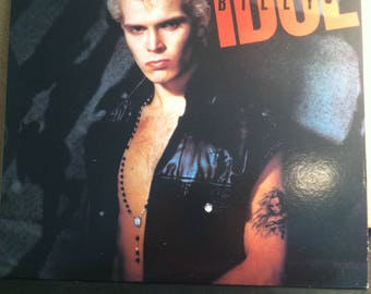 Billy Idol Vinyl Rock Record Album