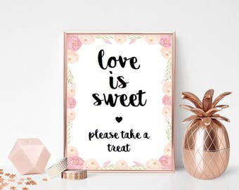 Sweetie Table Wedding Print