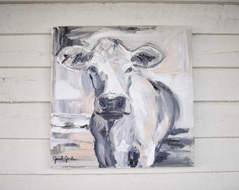 Cow Painting- 'Modern Cow'