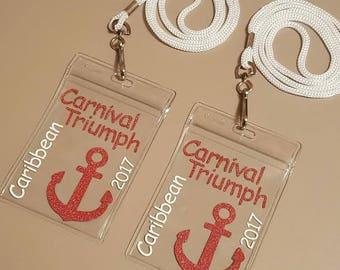 Custom Cruise Lanyards: Weddings, Birthdays, Family Vacations