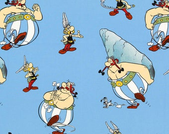 Asterix & Obelix - blue background