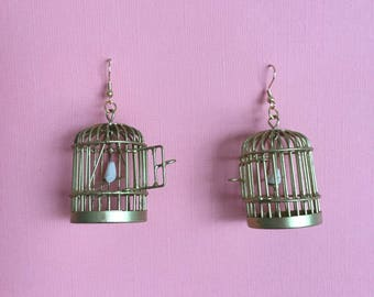 Caged Bird Earrings