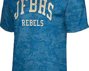 ProSphere Men's James F. Byrnes High School Digital Tech Tee (JFBHS)
