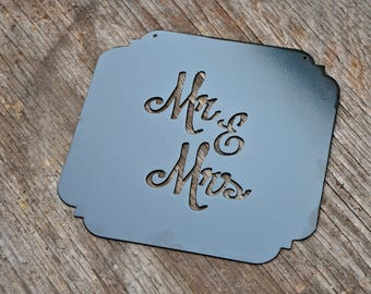 Mr. and Mrs. Plate