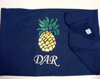 DAR Blanket - Colonial Pineapple Design