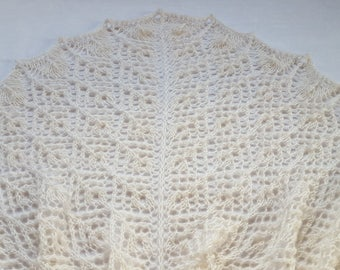Knitted shawl Shawl as a gift  Wrap shawl Gift Beige shawl Sale Gift for mom  Gift for mom Shawl Beauty gift Gift for girlfriend Unique gift