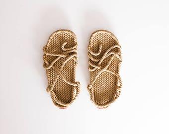Handmade rope sandals/men/women original sandals/trip