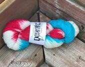 Ice Pop *SPARKLE* - Hand Dyed Yarn - SW Merino Wool/Nylon/Stellina (70/25/5) Fingering/Sock Weight
