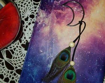 Moon hair clip
