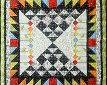 Weekender quilt pattern by Jillily Studio, Jill Finley