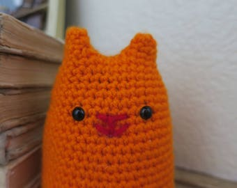 Crochet Hobbes Cat Toy