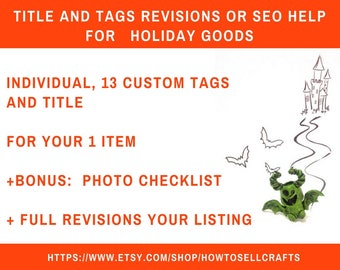 Tag revision Etsy tags Etsy description Etsy Tagging Etsy listings New seller Seo Etsy Seo Seo help Etsy SEO Help Keywords Etsy titles