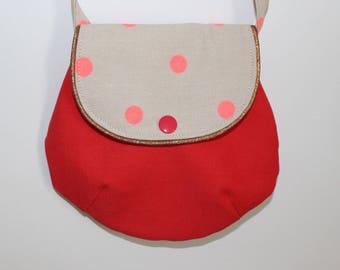 Pink small bag for girl