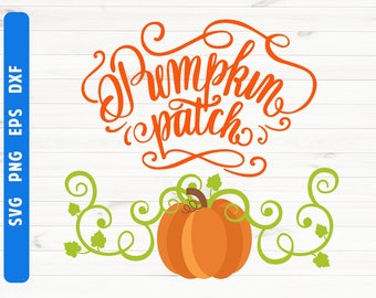 Pumpkin patch SVG Pumpkin svg Files for Cricut Silhouette Digital files Commercial use svg